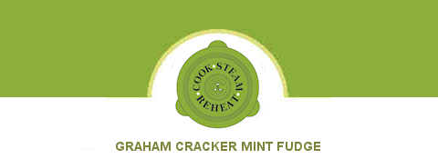 Graham Cracker Mint Fudge
